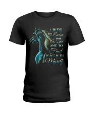 I Ride Ladies T-Shirt thumbnail