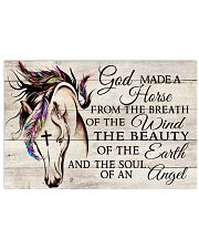 God Made A Horse 17x11 Poster front