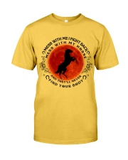 Mess With My Horse Classic T-Shirt front