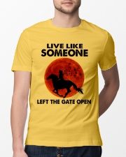 Live Like Someone Classic T-Shirt lifestyle-mens-crewneck-front-13