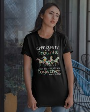 When We Rides Horses Together Classic T-Shirt apparel-classic-tshirt-lifestyle-08
