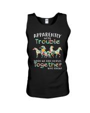 When We Rides Horses Together Unisex Tank thumbnail