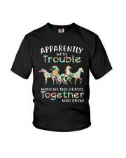When We Rides Horses Together Youth T-Shirt thumbnail