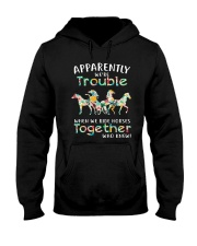 When We Rides Horses Together Hooded Sweatshirt thumbnail