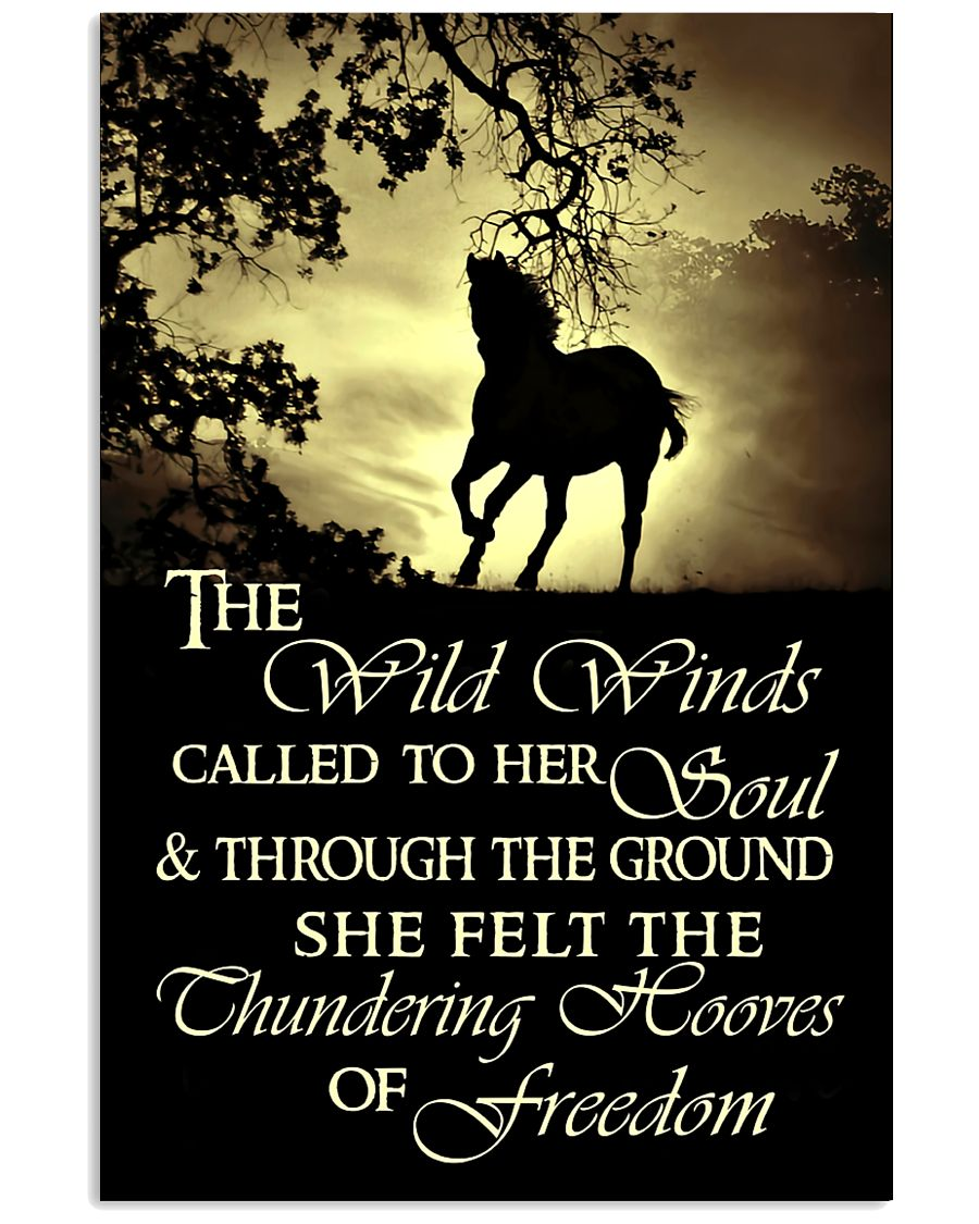 The Thundering Hooves Of Freedom 11x17 Poster