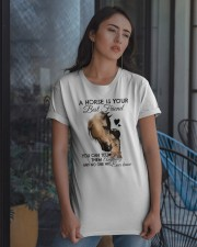 A Horse Is Your Best Friend Classic T-Shirt apparel-classic-tshirt-lifestyle-08