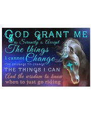 God Grant Me 17x11 Poster front