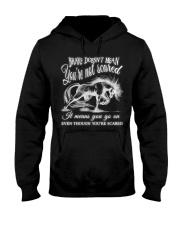 You Go On Hooded Sweatshirt thumbnail