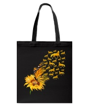 Sunflower And Horses Tote Bag thumbnail