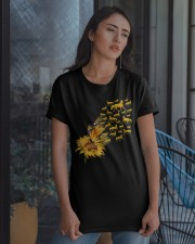 Sunflower And Horses Classic T-Shirt apparel-classic-tshirt-lifestyle-08