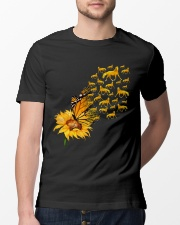 Sunflower And Horses Classic T-Shirt lifestyle-mens-crewneck-front-13