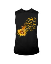 Sunflower And Horses Sleeveless Tee thumbnail
