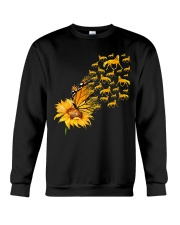 Sunflower And Horses Crewneck Sweatshirt thumbnail