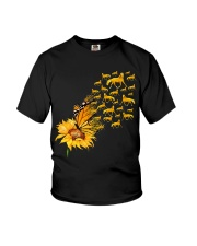 Sunflower And Horses Youth T-Shirt thumbnail
