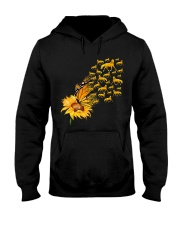 Sunflower And Horses Hooded Sweatshirt thumbnail