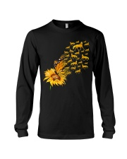 Sunflower And Horses Long Sleeve Tee thumbnail
