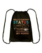 Ralationship Status Drawstring Bag thumbnail