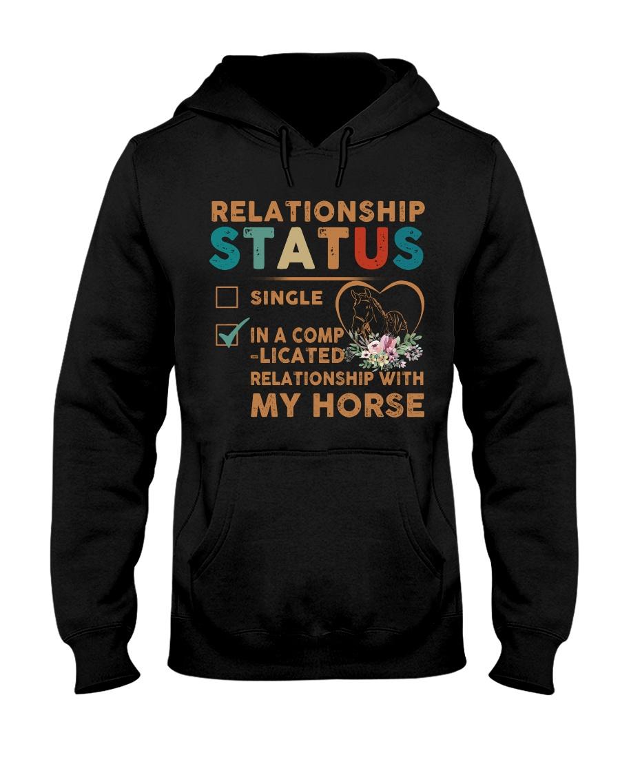 Ralationship Status Hooded Sweatshirt