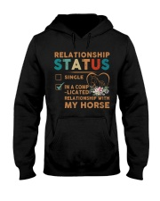 Ralationship Status Hooded Sweatshirt front