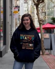 Ralationship Status Hooded Sweatshirt lifestyle-unisex-hoodie-front-2