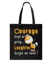 Laughter Keeps Us Sane Tote Bag thumbnail
