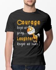 Laughter Keeps Us Sane Classic T-Shirt lifestyle-mens-crewneck-front-13