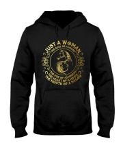Just A Woman Hooded Sweatshirt thumbnail