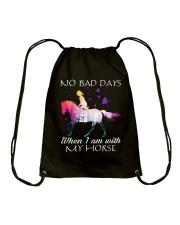 No Bad Days Drawstring Bag thumbnail