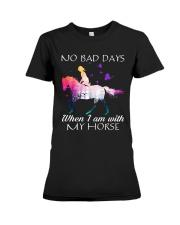 No Bad Days Premium Fit Ladies Tee thumbnail
