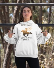 Happiness Does Have A Smell Hooded Sweatshirt apparel-hooded-sweatshirt-lifestyle-05