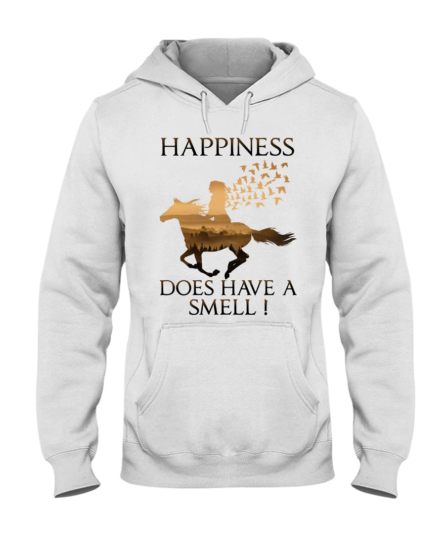 Happiness Does Have A Smell Hooded Sweatshirt