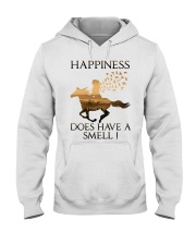 Happiness Does Have A Smell Hooded Sweatshirt front