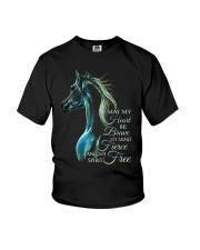 May My Heart Be Brave Youth T-Shirt thumbnail