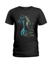 May My Heart Be Brave Ladies T-Shirt thumbnail