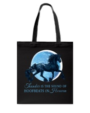Thunder Is The Sound Of Hoofbeats Tote Bag thumbnail