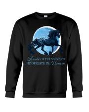 Thunder Is The Sound Of Hoofbeats Crewneck Sweatshirt thumbnail