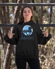 Thunder Is The Sound Of Hoofbeats Hooded Sweatshirt apparel-hooded-sweatshirt-lifestyle-05