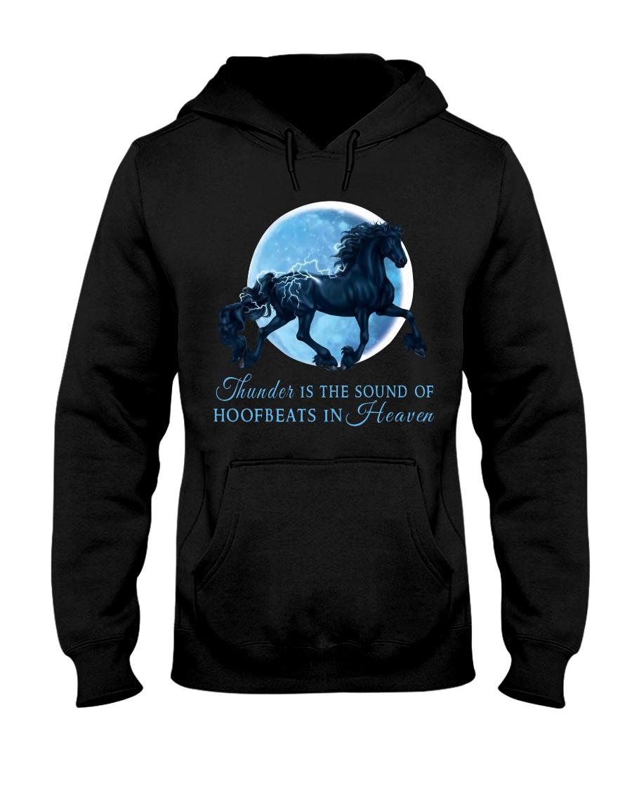Thunder Is The Sound Of Hoofbeats Hooded Sweatshirt