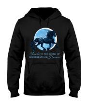 Thunder Is The Sound Of Hoofbeats Hooded Sweatshirt front