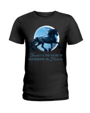Thunder Is The Sound Of Hoofbeats Ladies T-Shirt thumbnail