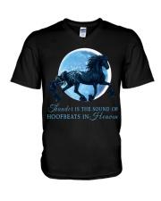 Thunder Is The Sound Of Hoofbeats V-Neck T-Shirt thumbnail