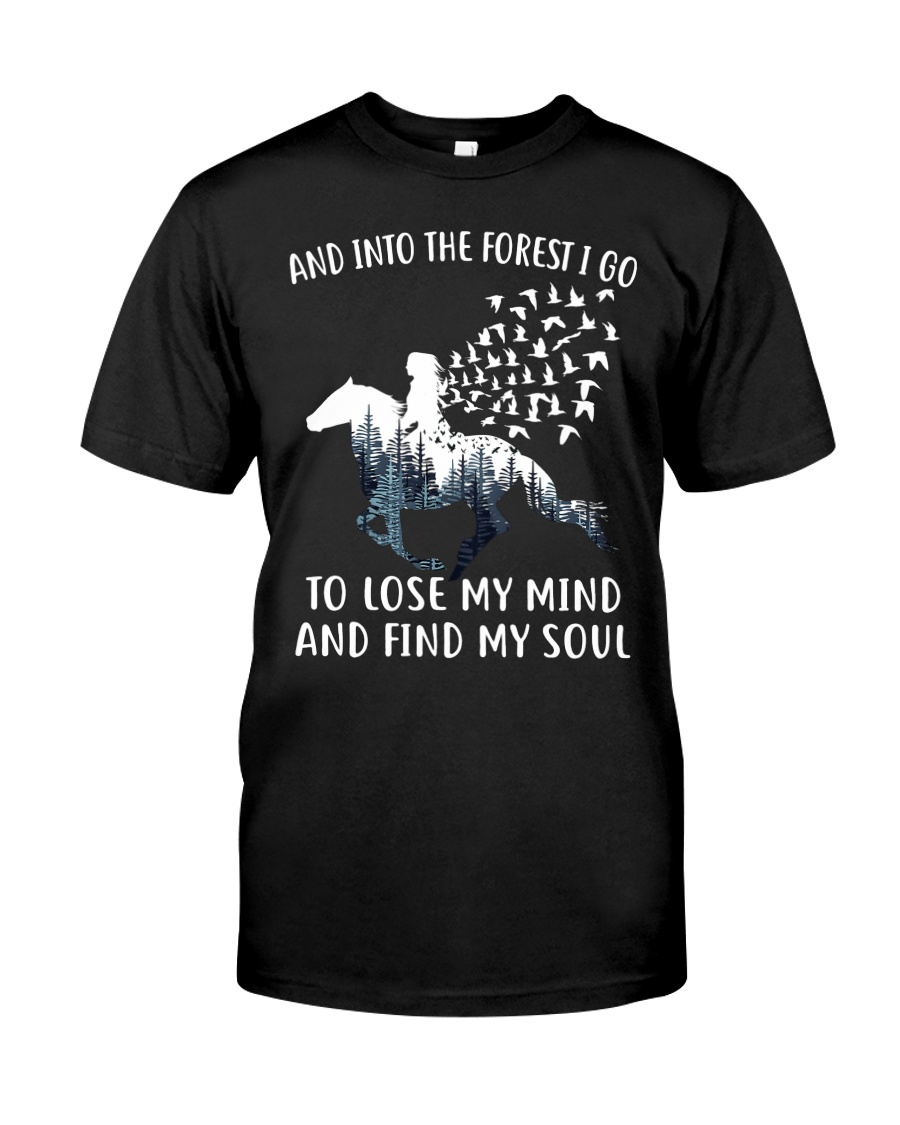 HR-L-24022026-And Into The Forest I Go Classic T-Shirt