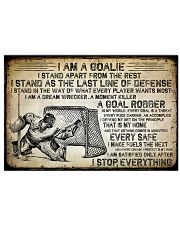 I Am A Golie 17x11 Poster front