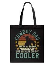 Cowboy Dad Tote Bag tile