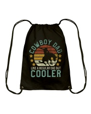 Cowboy Dad Drawstring Bag tile