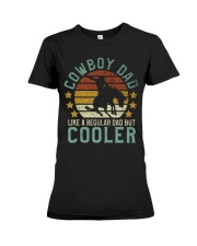Cowboy Dad Premium Fit Ladies Tee thumbnail