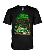 The Most Wonderful Time V-Neck T-Shirt thumbnail