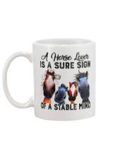 Horse Lover Mug back