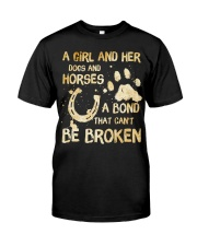 Dogs and Horses Premium Fit Mens Tee thumbnail