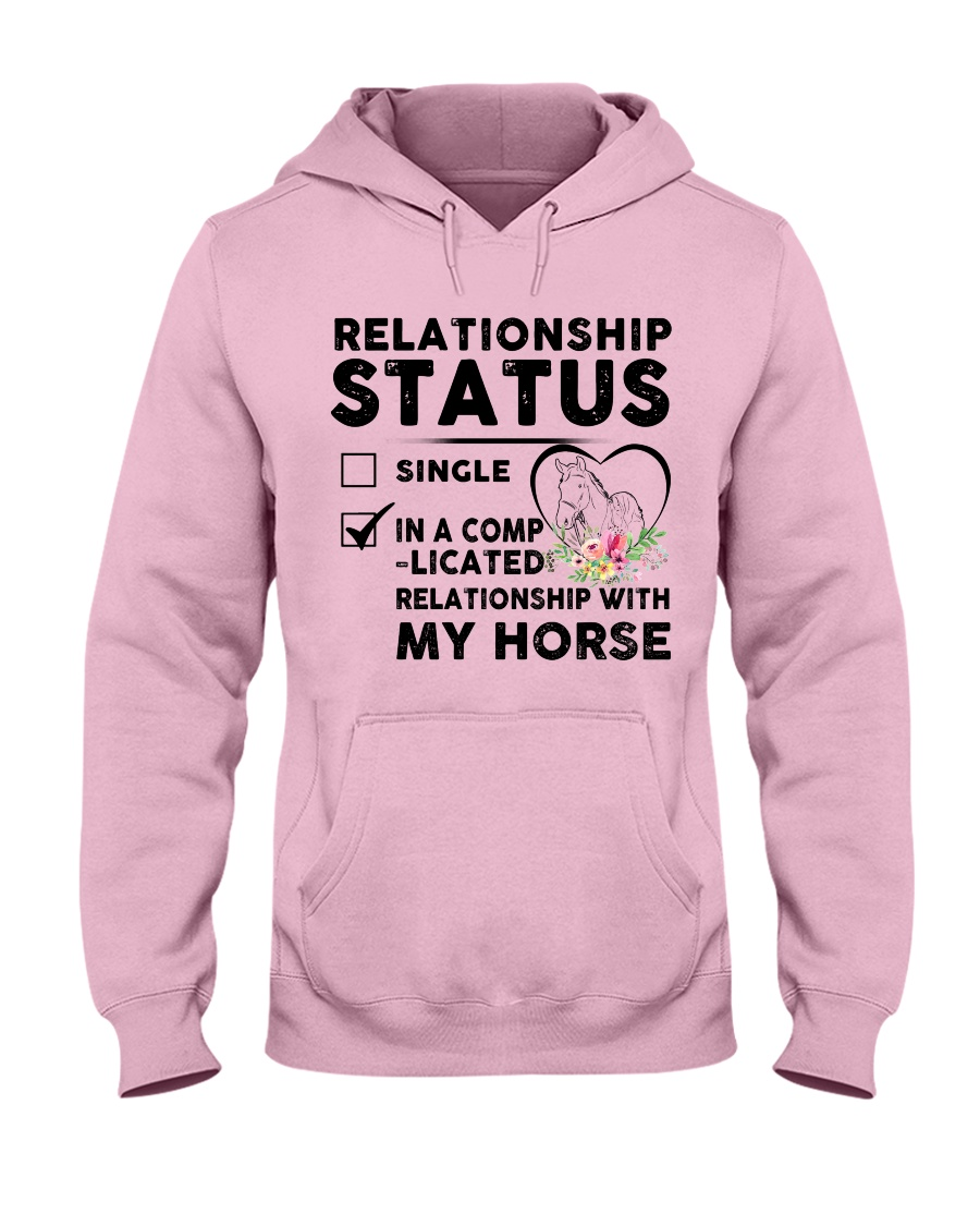 Relationship Status Hooded Sweatshirt